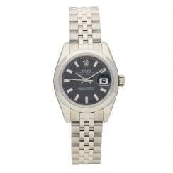 Datejust 179160 - Lady's Watch - Black Dial - 2007