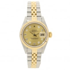 Datejust 79173 - Champagne Diamond Dial - 2003