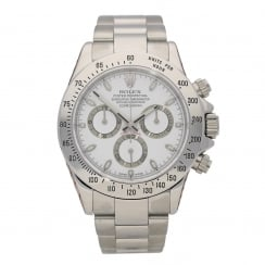 Daytona 116520 - Gents Watch - White Dial - 2005