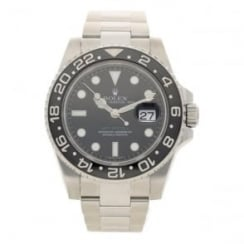 GMT Master II 116710 - Gents Watch - Black Dial - 2008