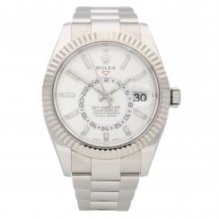 Rolex Sky-Dweller 326934 - Gents Watch - White Dial - 2017