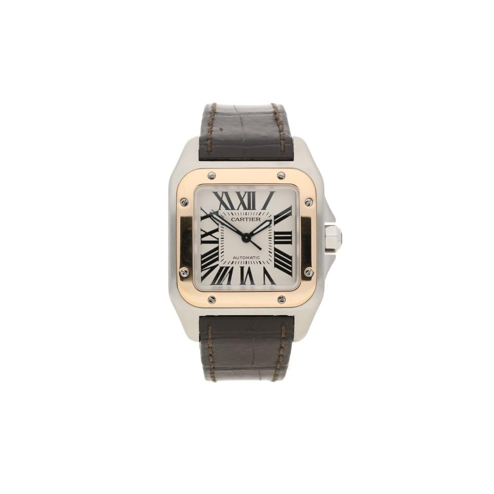 5a6749058fdb Santos 100 - 2878 - Automatic Watch - Mid Size - 2010