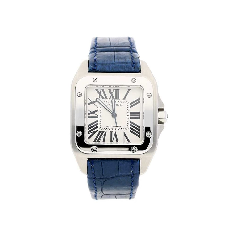 santos cartier automatic of preowned product ladies watches