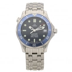 Seamaster 2551.80.00 - Gents Watch - Blue Dial & Bezel - 2002