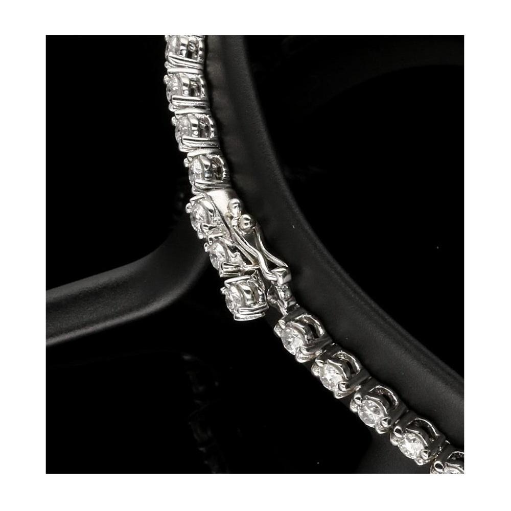 Second Hand 18ct White Gold Diamond Bracelet 2 50ct