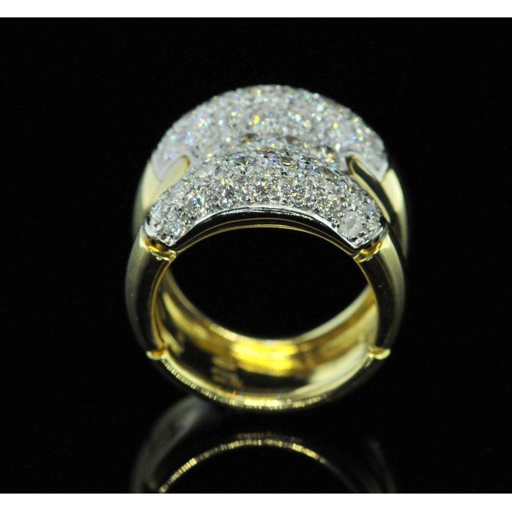 Second Hand Ladies Luxury Fancy Diamond Ring Second Hand Jewellery