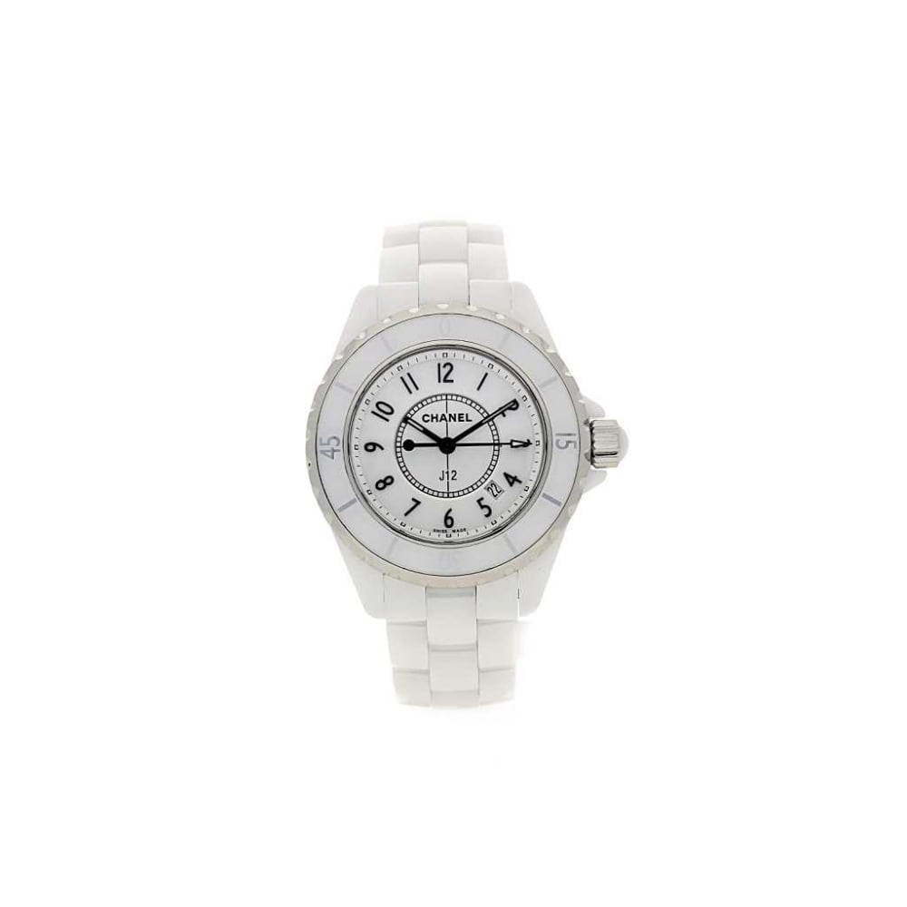 watch chanel ladies watches dial unisex mother of ceramic diamond white pearl