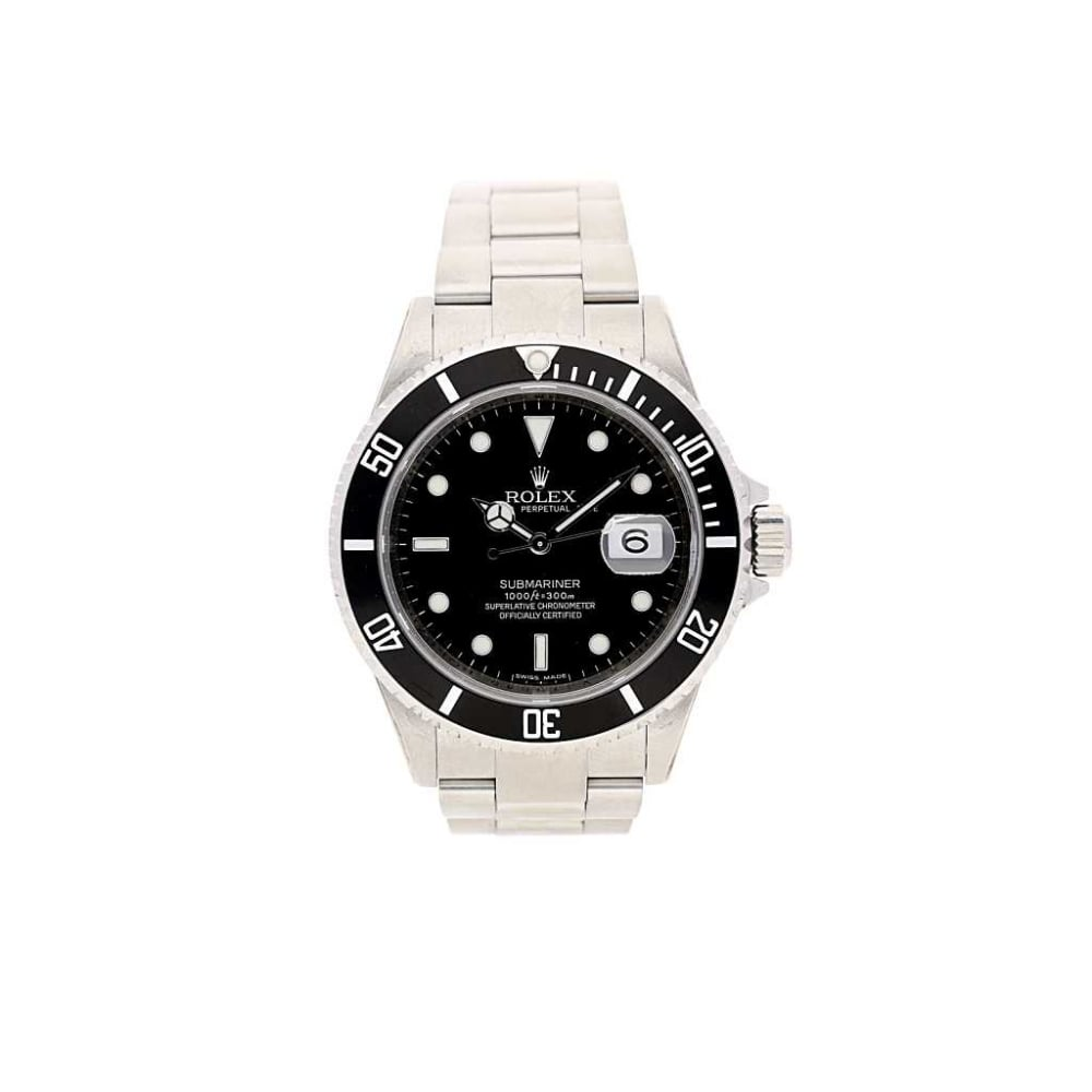 2010 rolex submariner 16610t miltons second hand gents watches. Black Bedroom Furniture Sets. Home Design Ideas