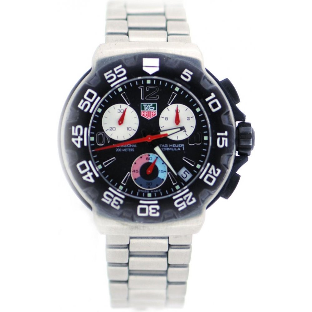 Tag Formula 1 Watch >> Tag Heuer Second Hand Mens Tag Heuer Formula 1 Watch