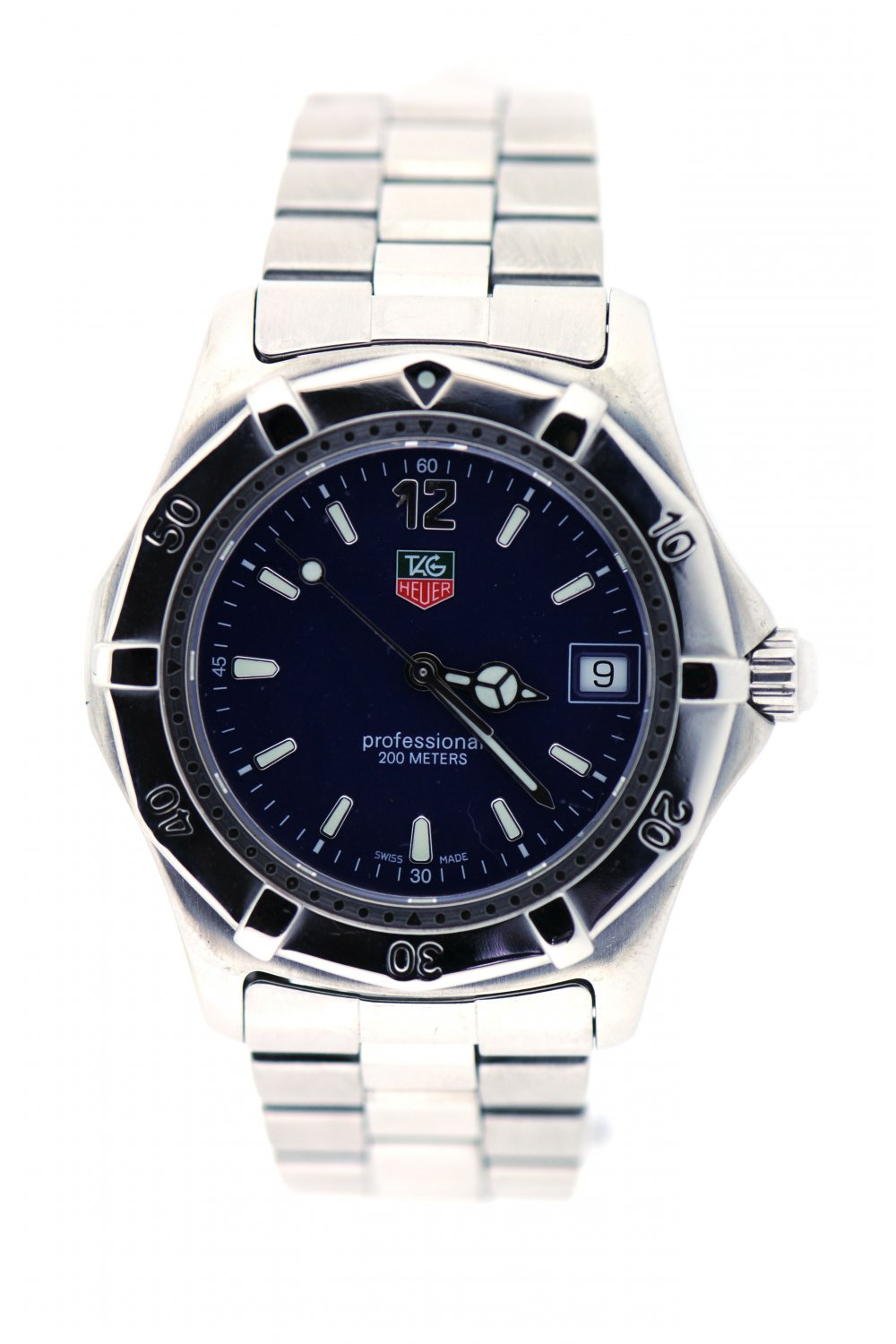 tag heuer second tag heuer professional mens