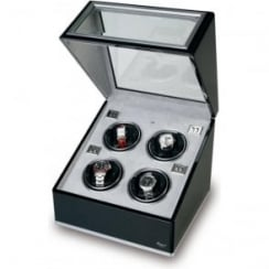 Sophisticat Black Ebony Quad Watch Winder
