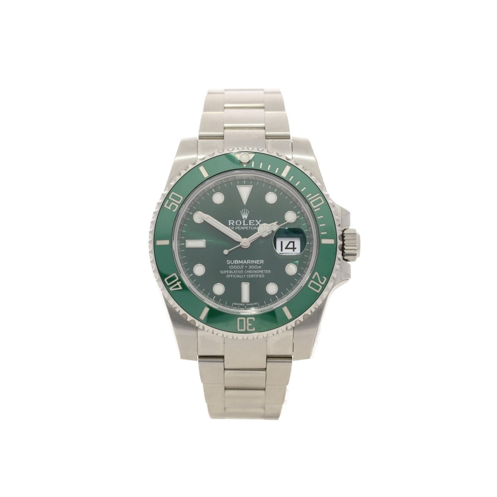 rolex submariner 11610lv green dial and bezel 2016. Black Bedroom Furniture Sets. Home Design Ideas