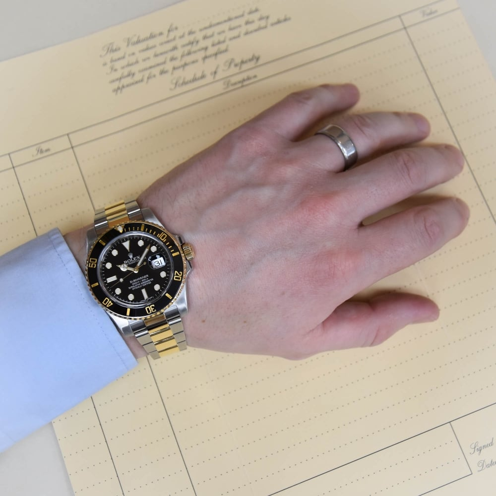 Rolex Submariner 116613ln Gents Watch Black Dial 2014
