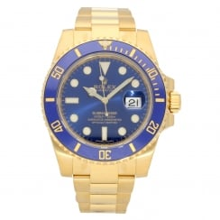 Submariner 116618LB - Blue Dial - 2018 Unworn