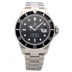 Submariner 16610 - Gents Watch - Black Dial - 2005
