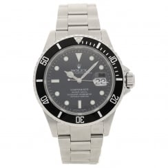 Submariner 16610 - Second Hand Watch - Black Dial - 2008