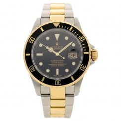 Submariner 16613 - Gents Watch - Black Dial - 2002