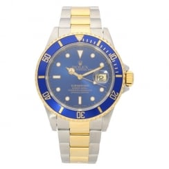 Submariner 16613 - Gents Watch - Blue Dial - 1995