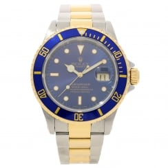 Submariner 16613 - Gents Watch - Blue Dial - 1996