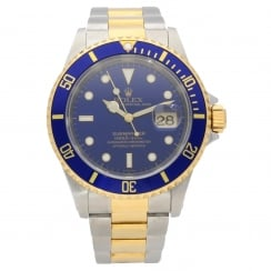 Submariner 16613 - Gents Watch - Blue Dial - 1998