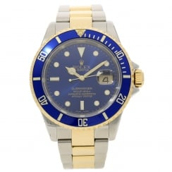 Submariner 16613T - Gents Watch - Blue Bezel & Dial - 2003