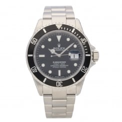 Submariner Date 16610- Black Dial - Diving Watch, 2004