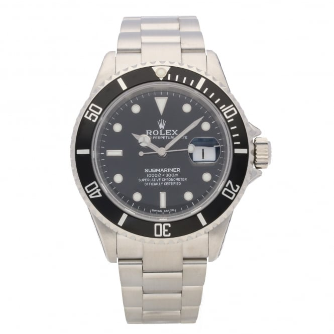 Rolex Submariner Date 16610T- Black Dial - Diving Watch, 2004