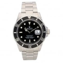 Submariner Date 16610T, Stainless Steel, Black Dial, 2008
