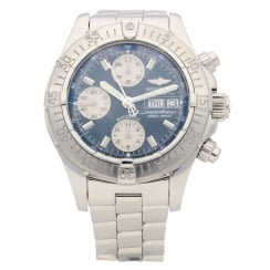 SuperOcean A13340 - Gents Watch - Blue Dial - 2009