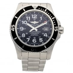 Superocean A17392 - Gents Watch - Black Dial - 2015