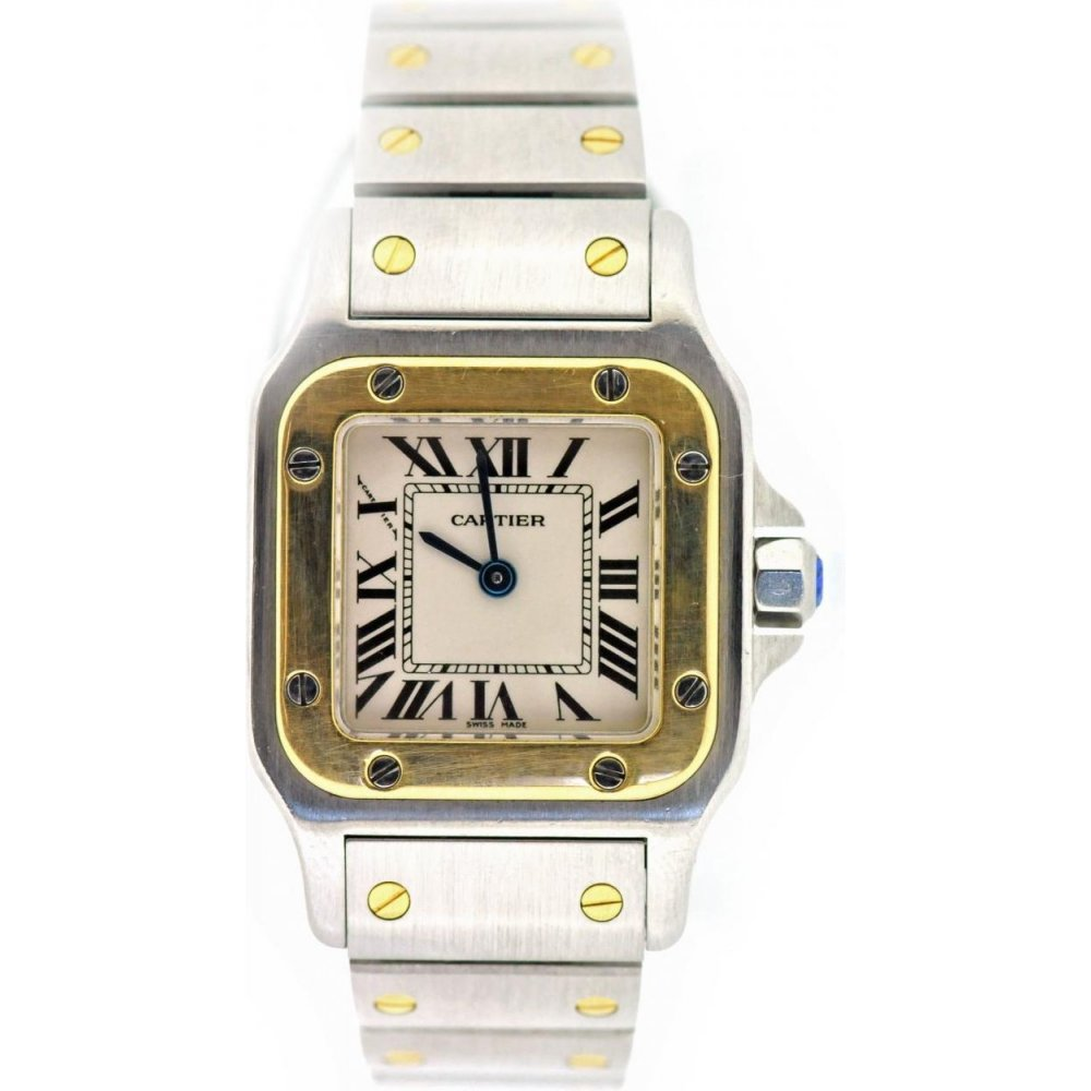 b3e956eb8d57c Cartier Used Ladies Cartier Santos 1567 Watch - Watches from Miltons ...