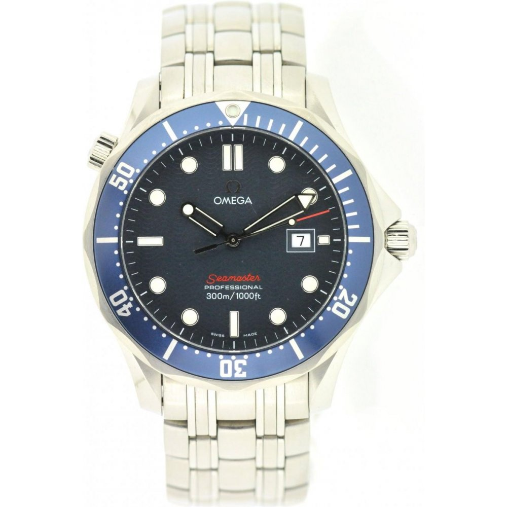 Omega Used Mens Omega Seamaster Quartz Watch - Watches from Miltons ... 713c7b828