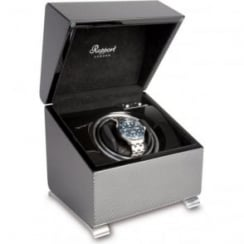 Vogue Carbon Fibre Mono Watch Winder