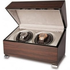 Vogue Macassar Duo Automatic Watch Winder