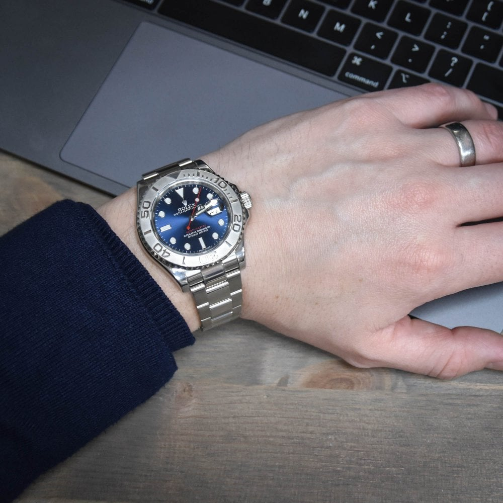 Yacht,Master 116622 , Blue Dial , 2013