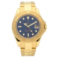 Yacht-Master 68628 - Midsize Watch - 18ct Gold - 1995