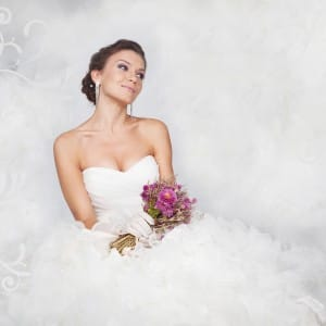 Bride portrait
