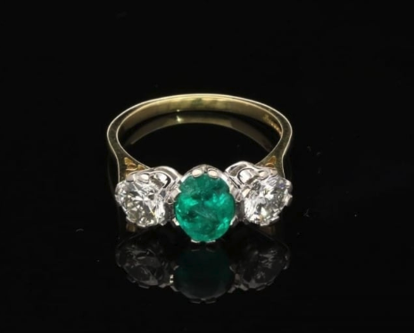 alternative engagement rings, emerald engagement rings